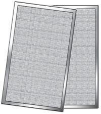 PATIO SCREEN WHITE 36X76